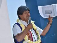 Bolivian President Says US Tries to Prevent Him From Running for  ..