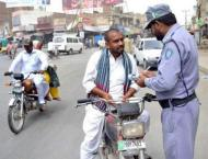 795,473 vehicles challaned over violation of traffic rules in 201 ..