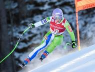 Slovenia's Stuhec storms World Cup downhill