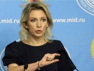 Zakharova Slams Ukraine Security Council Head's Words on New Kerc ..
