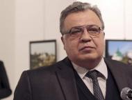 Ceremony Commemorating Murdered Russian Ambassador Karlov Takes P ..