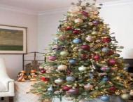 Christmas tree decked with ornaments add charm to festivity