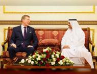 Fujairah Ruler receives ambassadors, consuls