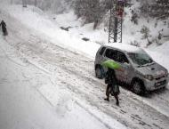 Cold wave grips upper parts of country