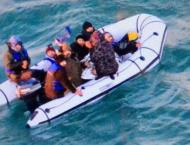 Six migrant boats rescued in English Channel