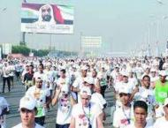Over 15,000 runners take part Zayed Charity Marathon in Cairo