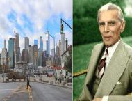 Major avenue in Brooklyn New York named after Jinnah