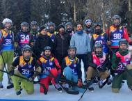 Pakistan Air Force defeats GB Scouts in first ever ice hockey mat ..