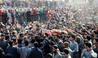 Hurriyat leaders condemn continued bloodbath in IOK