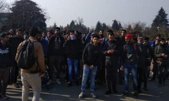 Students in Srinagar, Sopore protest against Pulwama killings