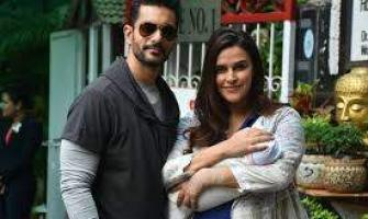 Neha Dhupia's baby girl turns one month old