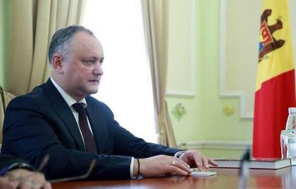 Moldova Constitutional Court Suspends President Dodon From Office
