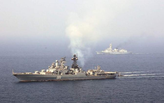 Russian Federation Navy Ships Visit To Karachi …Conduct Bilateral Exercise With Pakistan Navy