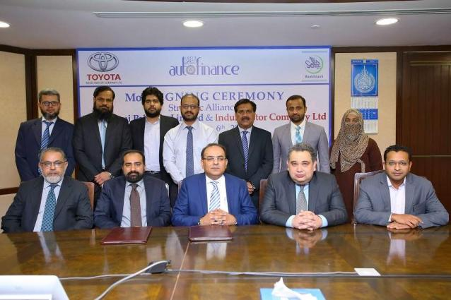 BankIslami partners with Indus Motor Company to offer customized financing solutions