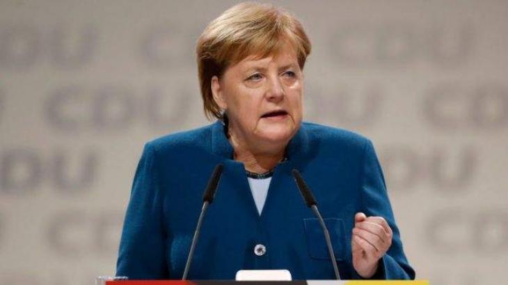 Merkel Expresses 'Overwhelming' Gratitude in Farewell Speech as CDU Leader