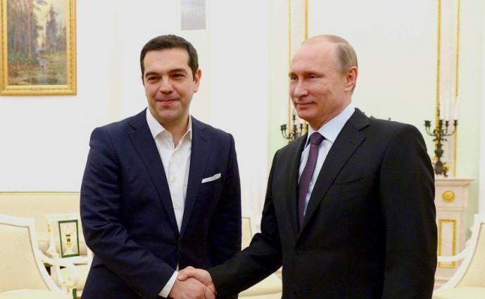 Putin, Tsipras Discuss Cyprus Conflict Settlement at Moscow Talks