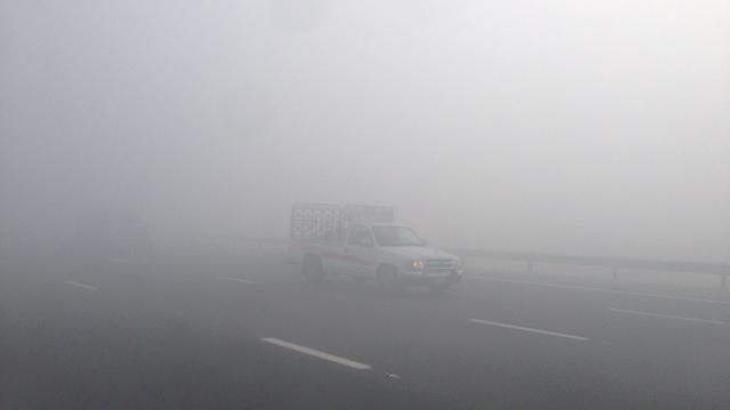 Five injured in road accident as fog engulfs M-2 Motorway