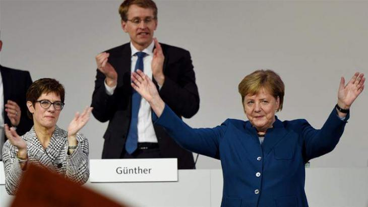 Head of Germany's CDU to Be Chosen in Runoff Between Merz, Kramp-Karrenbauer - Party