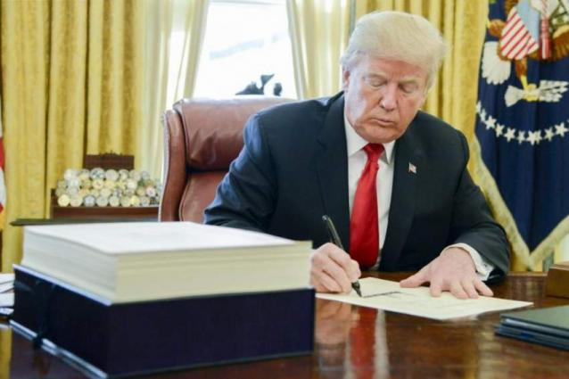 Trump Signs Continuing Resolution to Keep Government Funded For 2 More Weeks - White House