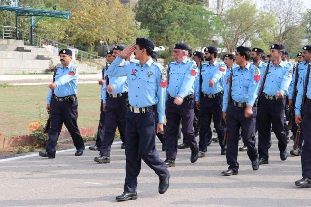 Capital Police arranges farewell for colleague retiring after 36 years long service