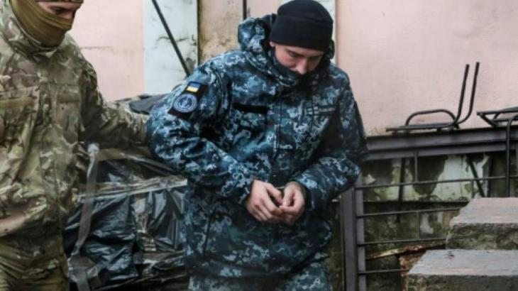 Russia insists detained Ukrainian sailors will face trial
