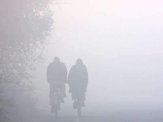 Cold, dry weather forecast with foggy conditions in central Punjab 07 Dec 2018