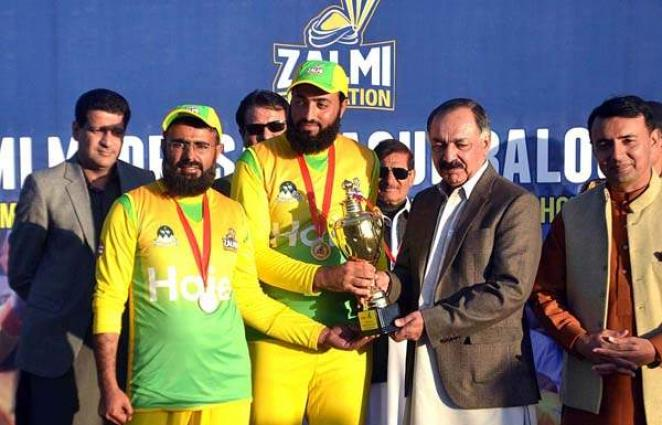 Governor Balochistan pays tributes to Zalmi Foundation foor organizing Madrasa league