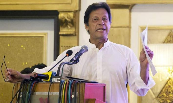 Govt committed to constructing water reservoirs, improving water management: Prime Minister Imran Khan
