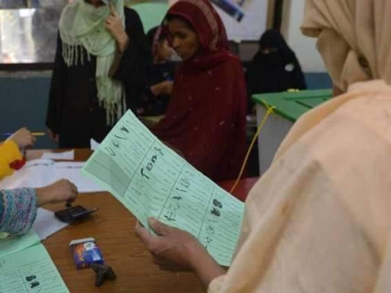 Deputy Commissioner Shaheed Benazirabad for efforts to register women in electoral rolls