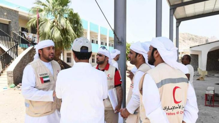 Wounded Yemenis arrive in Cairo for UAE-sponsored medical treatment