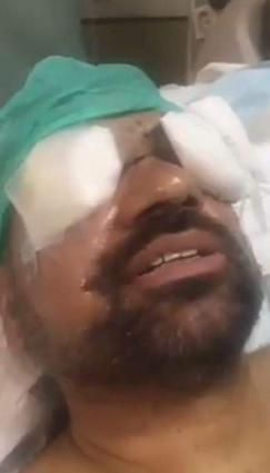 Brave Pakistani soldier has high spirits despite losing his sight in anti-terror operation