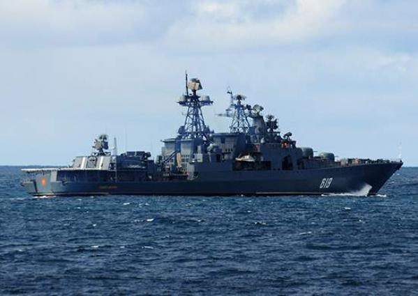 Russian Severomorsk Destroyer Makes Port Call in Djibouti - Northern Fleet