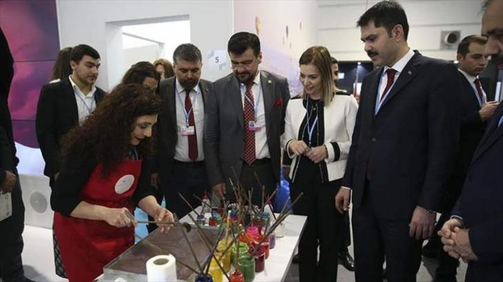 Turkish art and craft stand opens at COP24