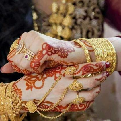 Pakistani Brides Attire Imperfect Without Addition Of Bangels In