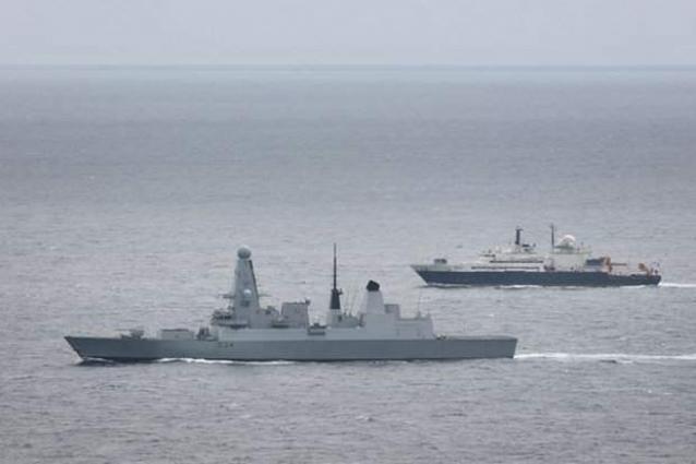Cyprus Navy Commander Visits Russian Severomorsk Destroyer in Port City of Limassol