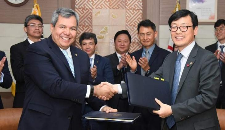 S. Korea inks deal to join Central American multilateral development bank