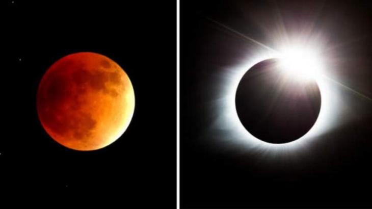 Three Solar Two Lunar Eclipses To Be Visible In Year 2019 Urdupoint
