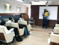 Breaking stereotypes: Gold medalist Zaman Khan delivers lecture w ..