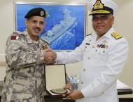 Pakistan Navy And Pakistanmaritime Security Agency Ships Visit Do ..