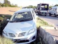 Man Killed, five injured in road mishap in Swat