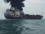 One dead, two missing after oil tanker blaze off Hong Kong