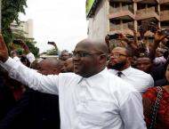 DRC opposition chief wins vote as rival cries foul
