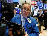 US stocks end higher; Macy's leads retailers down