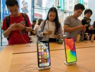 China's e-commerce platforms lower iPhone prices