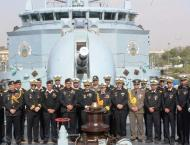 Pakistan Navy And Pakistan Maritime Security Agency Ships Visited ..