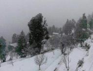 Heavy snowfalls in northern regions of Pakistan