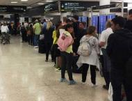 Travelers fume in long lines at Miami International in govt shutd ..