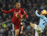 Klopp delighted Fabinho gives him options in central defence