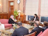 Prime Minister Imran Khan receives Governor Tabuk