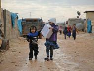 15 Syrian children die amid freezing weather conditions